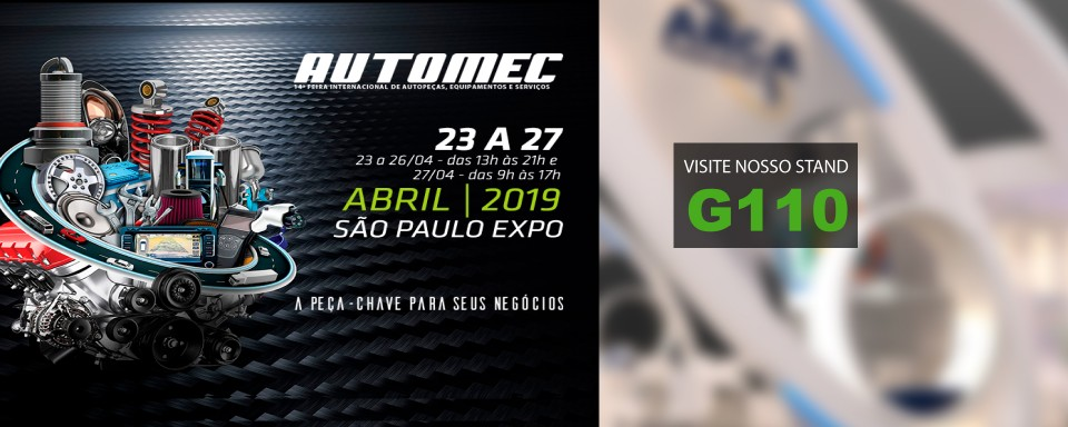 ARCA Retentores estará na Automec 2019 - Stand G110