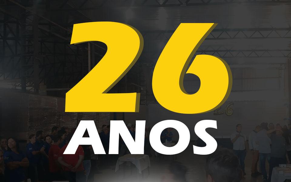 26 anos de ARCA Retentores