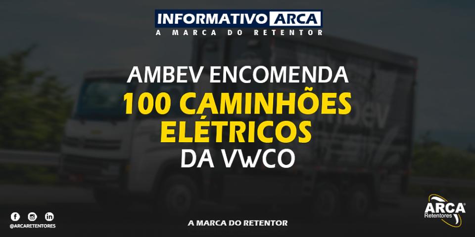 Venda dos 100 primeiros caminhões elétricos da VWCO foi confirmada.