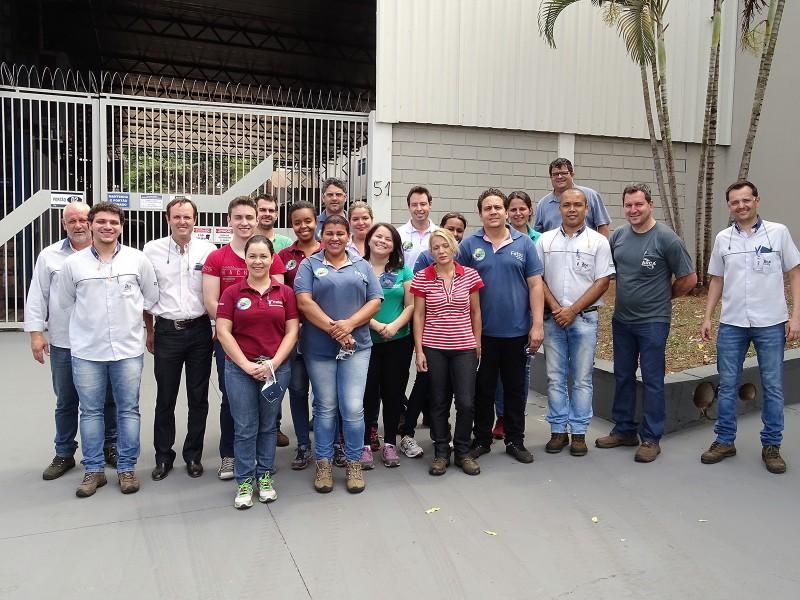 Alunos da Fatec Jaboticabal fazem visitação técnica na Arca Retentores