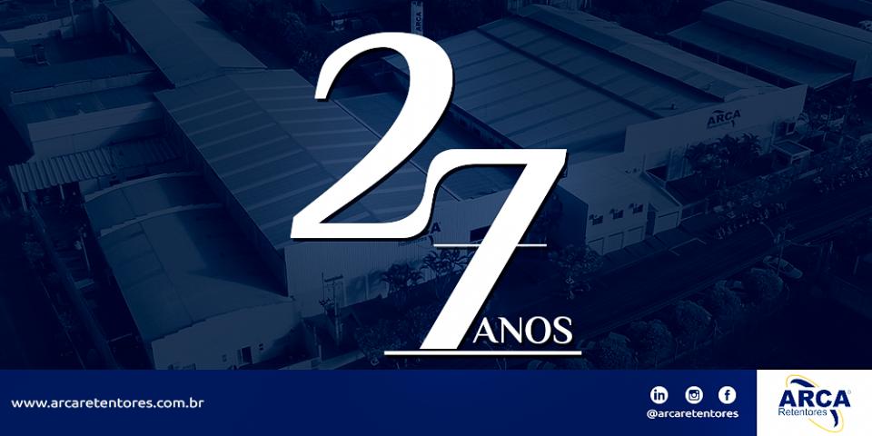 ARCA Retentores - 27 anos!