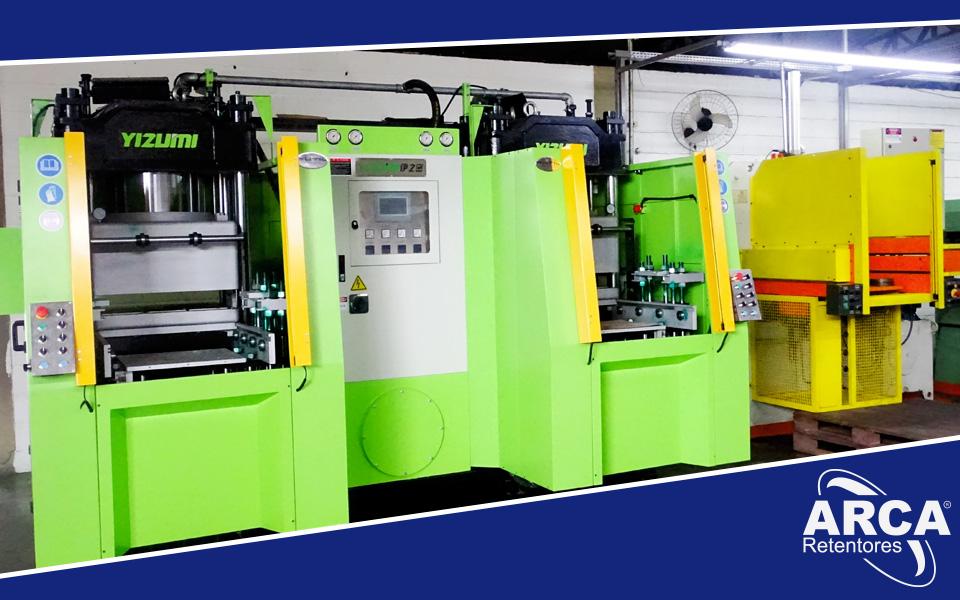 ARCA Retentores investindo em produtividade com Qualidade