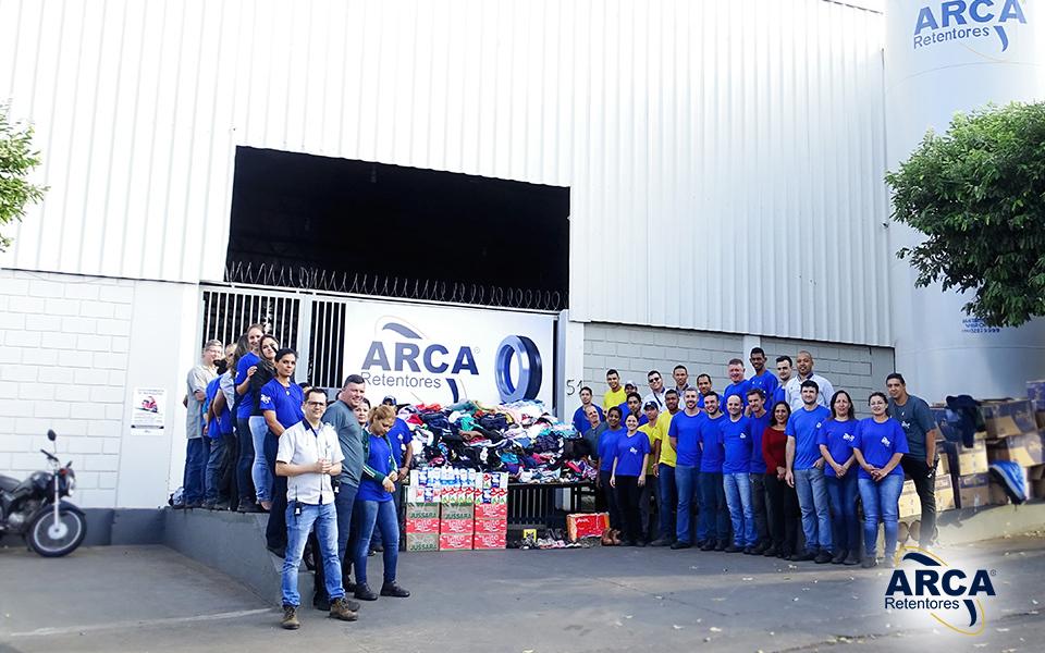 Campanha do Agasalho 2018 da ARCA Retentores