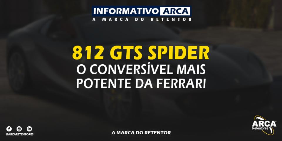 Chega no Brasil o conversível mais potente da Ferrari.