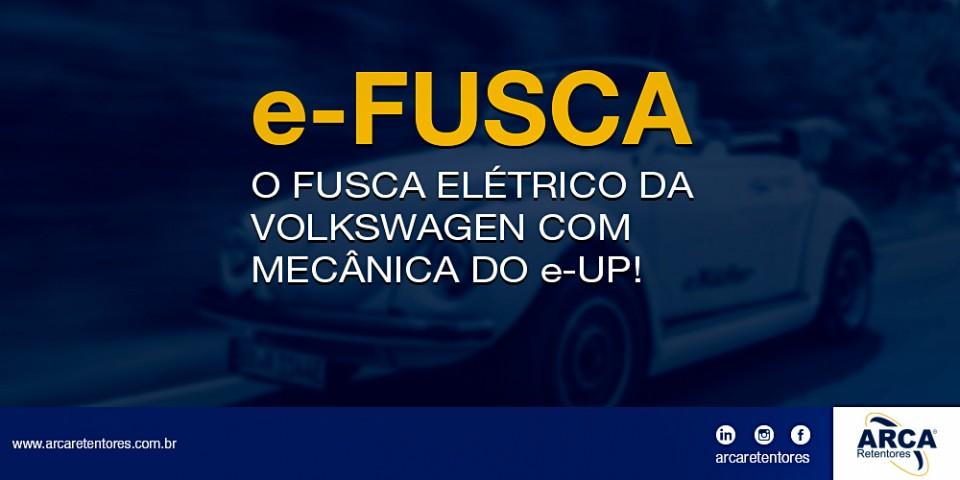 Conheça o  fusca elétrico da Volkswagem.