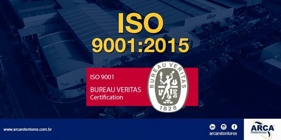 Certificação ISO 9001:2015 - Bureau Veritas