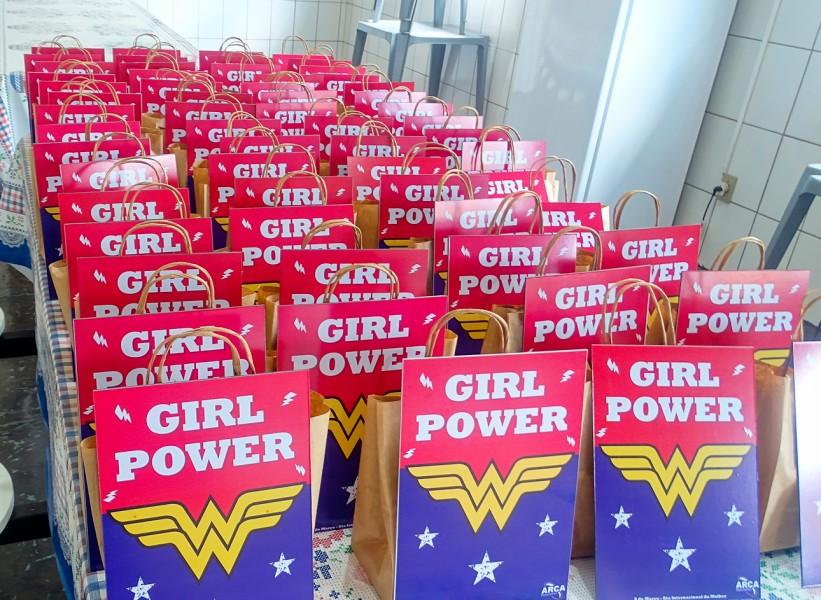Dia Internacional das Mulheres.