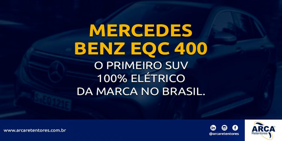 EQC 400 - O primeiro SUV 100% elétrico da Mercedes.