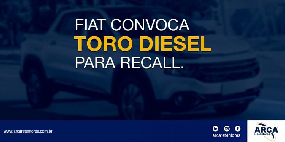 FIAT convoca Toro Diesel para recall.