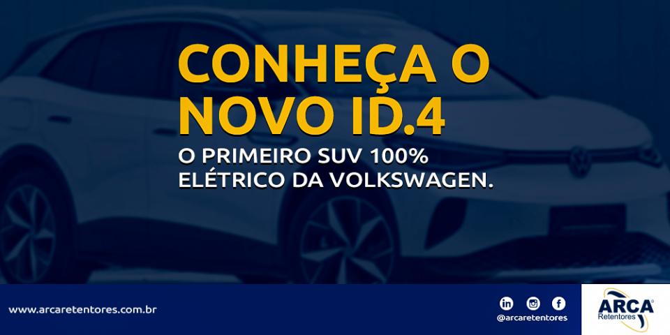 ID.4 - O primeiro SUV 100% elétrico da Volkswagen