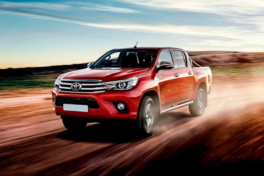 Linha completa: Toyota Hilux