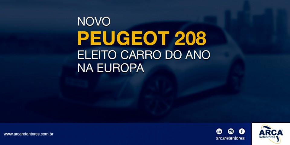 Novo Peugeot 208, eleito o carro do ano na Europa.