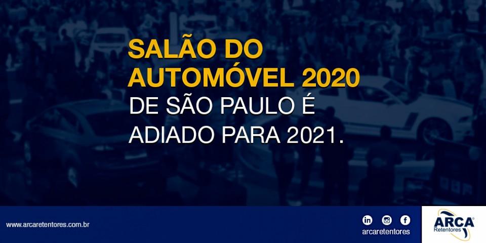 Salão automotivo 2020 de São Paulo é ADIADO.