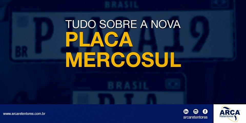 Tudo sobre a nova placa Mercosul.